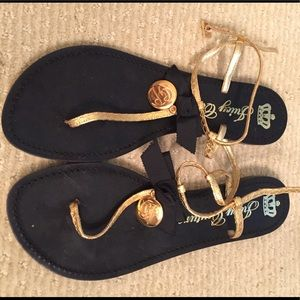 Juicy couture brand new never worn sandals